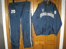 Yale Bulldogs college hockey player jacket and pants Bauer men's XL blue #20