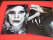 VERY RARE! LADY GAGA The Born This Way Ball / The MONSTER BALL Tour Program