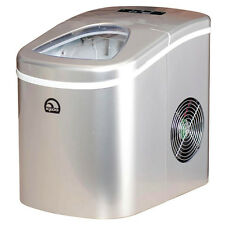 Ice Maker Igloo Compact Portable Countertop Ice Cube Making Machine Bar Silver