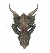 Fierce Dragon Mask Wall Plaque  - New in Box