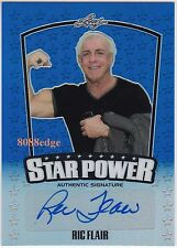 2015 POP CENTURY STAR POWER AUTO: RIC FLAIR #9/20 AUTOGRAPH 16 TIMES WORLD CHAMP