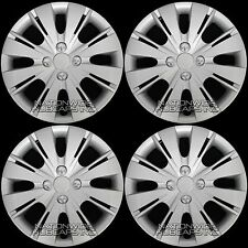 "4 New 06-16 Toyota Yaris 15"" Hub Caps Wheel Rim Covers Snap On 4 Bolt Lug Hubs"