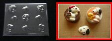 SNOOPY WOODSTOCK Bite Size Pieces 4 Cupcakes Chocolate Soap Candy Mold