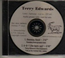 (BO289) Terry Edwards, Noonday Boost - 2001 DJ CD