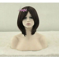 USJF10282Princess-Mononoke-Hime short brown  health hair wig wigs for women