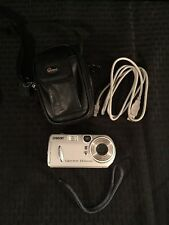 SONY Cyber-Shot 3.2 Megapixels Digital Camera Bundle Great Condition