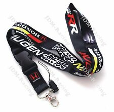 JDM Racing Drift MUGEN Lanyard Neck Cell Phone Key Chain Strap Quick Release