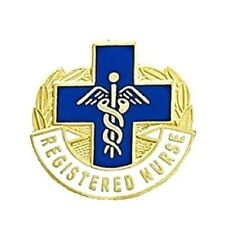 Registered Nurse Lapel Pin RN Graduation Pinning Ceremony Pins Blue Cross 963