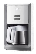 Grundig KM 8280 W Kaffeemaschine Kaffeeautomat Thermokanne White Sense