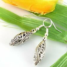Wholesale new Lady 1Pair Charm Fashion Jewelry Silver Classical Stud Earrings