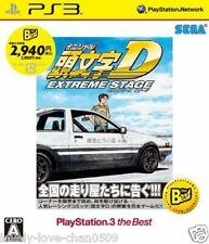 New PS3 SEGA INITIAL D EXTREME STAGE PlayStation 3 Japan Import