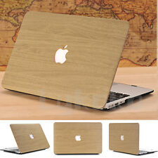 """Wooden Pattern Leather Coated Matte Case for MacBook Pro 13"""" A1278 (Have CD-Rom)"""