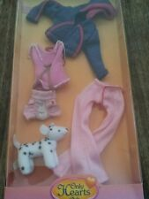 Only Hearts Club Kayla ready to wear outfit blue and PINK hoodie,  doggy  NEW