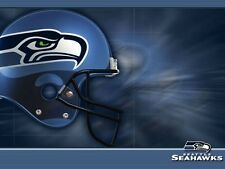 Seattle Seahawks Football Edible Party Cake Image Topper Frosting Icing Sheet