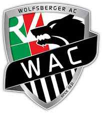 """Wolfsberger AC FC Austria Football Soccer Car Bumper Sticker Decal 4""""X5"""""""