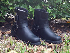 Men's Fuda Motorcycle Boots Black 3612 Size 8