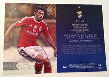 2016 Topps UEFA Champions League 5x7 GOLD (#/10 Made) PIZZI Benfica #58 SSP