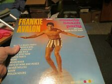 """Vintage 1964 Frankie Avalon, """"MUscle Beach Party"""" United Artists UAL3371"""