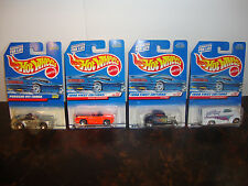 Hot Wheels--Lot Of 4--Porsche #608--Dodge #634--Ford #636--Delivery #645-Lot #13