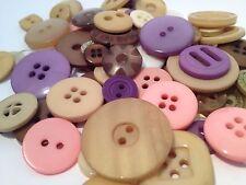 100g Surtidos a granel de botones de estilo vintage Pastel Para Manualidades, Scrapbook, Costura