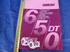 SUPPLEMENTO CATALOGO PARTI DI RICAMBIO TRATTORE FIAT 650 DT 1971 1° EDIZIONE