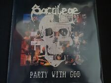 "Sacrilege B.C ""Party With God"" Original LP. 1st edition w/inner. VERY RARE !"
