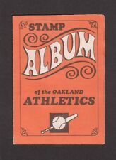 1969 Topps Stamps Album A's ATHLETICS Complete w/10 stickers HUNTER BANDO..