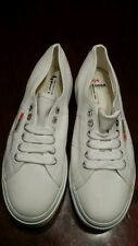 PLATFORM Superga 2790 ACOTW Linea White 41 Women's Size 9 1/2 M Athletic Shoe