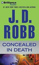 In Death: Concealed in Death 38 by J. D. Robb (2016, CD, Abridged)