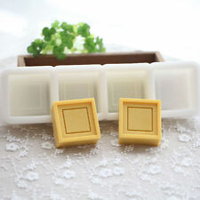 DIY Homemade soap mould Silicone Soap molds Craft Molds 4 cavities Guyu AI003