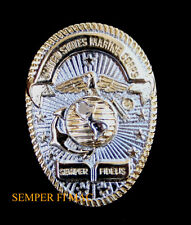 US MARINES OVAL BADGE HAT PIN EGA SEMPER FIDELIS USMC OFFICER ENLISTED GIFT WOW