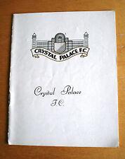 Crystal Palace v Watford..1963/64