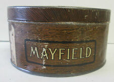 ANTIQUE MAYFIELD TOBACCO TIN ROCK CITY QUEBEC CANADA