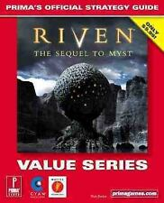 Riven: The Sequel to Myst (Value Series): Prima's Official Strategy Guide