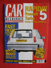 Car Mechanics 'Performance in Practice' Magazine - March 1991.