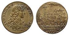 LOUIS XIV (1643-1715) Jeton 1660 Entrée de la reine à Paris