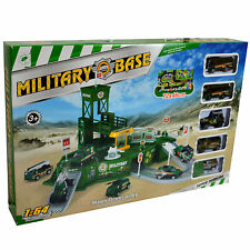 Large Military Army War Base And Vehicle Command Centre Pretend Playset For Boys