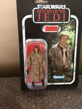 Kenner Hasbro STAR WARS vintage saga collection votc HAN SOLO TRENCH COAT 2006