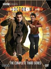 Doctor Who - The Complete Series 3 Box Set DVD David Tennant Brand New