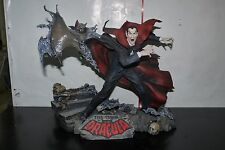TOMB OF DRACULA MARVEL MILESTONES DIAMOND STATUE DIORAMA 585/1000 BOXED
