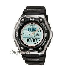 Casio AQW101-1AV Sports Gear Watch w/Fishing Mode Moon NEW