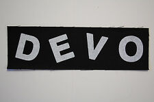 Devo Cloth Patch (CP215) Punk Rock Adicts Sex Pistols Ramones The Clash B-52's