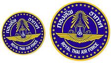 A80 adhesive sticker decal lot x 2 - Royal Thai Air Force - Thailand