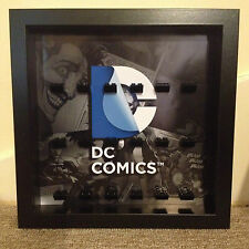 Lego Super Heroes DC Comics Logo Minifig Display Frames Cases