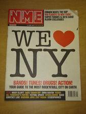 NME 2001 APR 21 MISSY ELLIOTT BADLY DRAWN BOY FEEDER