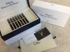 OMAS Celluloid Paragon Collectors Set, 2005, Limited Edition, Limited to 50 Sets