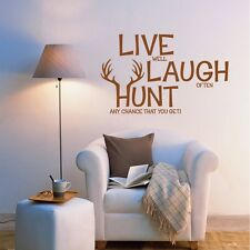 2015 DIY Live well Laugh often Quote Art Wall Sticker Decals Home Room Decor US