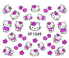 Pink HKitty Nail Decals Very Cute Nail Art Stickers Manicure