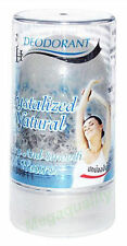 Eliza Natural Deodorant Roll On Crystalized DRY AND SMOOTH Antiperspirant 24 hrs