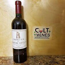 RP 93 pts! 1999 Chateau Latour Pauillac Bordeaux wine